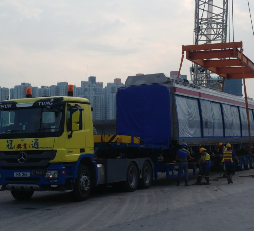 Heavy Transportation Project